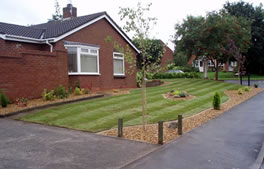 front garden landscaping info and examples